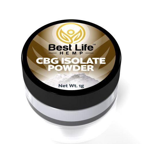 Best Life Hemp CBG Isolate Powder